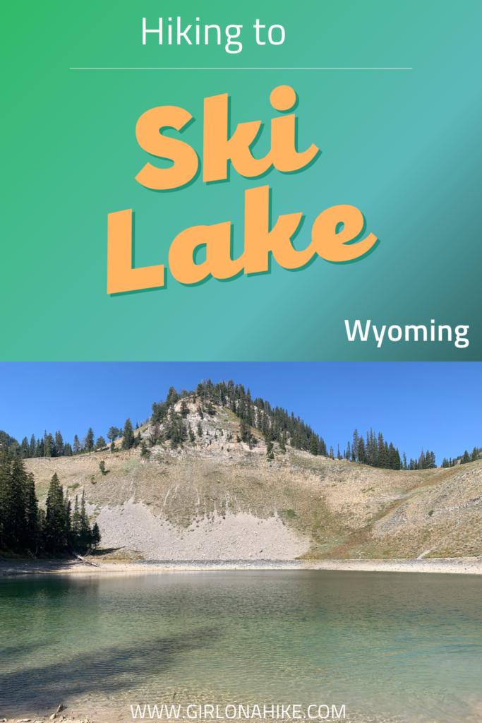Hiking to Ski Lake, Wyoming